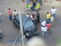 Śląskie: niebezpieczny wypadek w centrum Gliwic, zobacz zdjęcia - http://1skupaut.pl/powypadkowych-uzywanych/galeria/samochody-osobowe/slaskie/