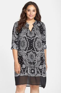 DKNY+'Uptown'+Sleep+Shirt+(Plus+Size)+available+at+#Nordstrom