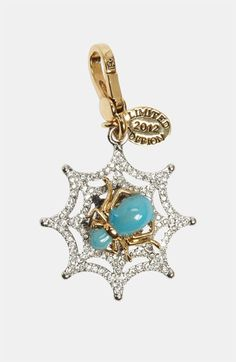 Juicy Couture 'Glow in the Dark' Spider Web Charm available at #Nordstrom
