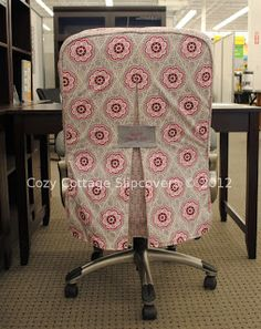 Cozy Cottage Slipcovers Office Chair