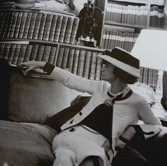 An amazing lady...Coco Chanel:)