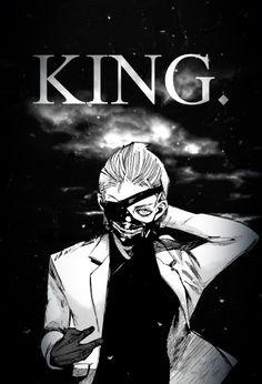 One-Eyed King: Ken Kaneki. Major MAJOR fangirl for him OMG