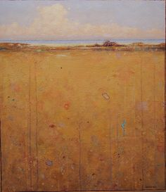 Artist ~ Elwood Howell, acrylic on canvas. I like the colors and texture of this painting.