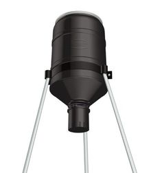 - Shorty Tripod Feeder with R-Kit Pro and Varmint Buster - Low height allows for easy filling - Analog clock timer and guard - capacity heavy duty p Hunting Accessories, Truck Accessories, Hunt Games, Work Lamp, Best Home Gym Equipment, Timer Clock, Fishing Supplies, Hunting Gear, Cleaning Kit