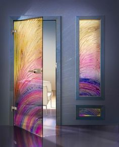 Image Detail for - Fused Glass Doors products, buy Fused Glass Doors products from .