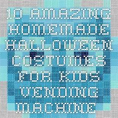 Elf on a shelf costume 10 Amazing Homemade Halloween Costumes for Kids Vending Machine Halloween Costume – Inhabitots