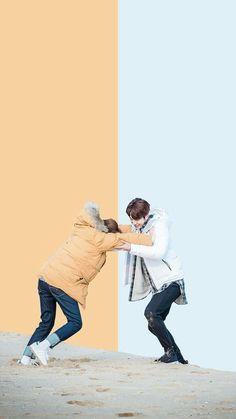 Korean Drama, wallpaper, and kdrama image - Weightlifting Fairy Kim Bok Joo - İmages Joon Hyung Wallpaper, Lee Sung Kyung Wallpaper, Nam Joo Hyuk Wallpaper Iphone, Korea Wallpaper, 3d Wallpaper, Black Wallpaper, Wallpaper Quotes, Nam Joo Hyuk Lee Sung Kyung, Jong Hyuk