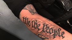 Gallery For We The People Tattoo Skin Art Tattoos Tattoos For