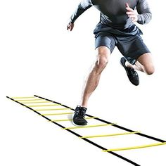 GHB Pro Agility Ladder Agility Training Ladder Speed Flat Rung with Carrying Bag 12 Rungs *** See this great product.