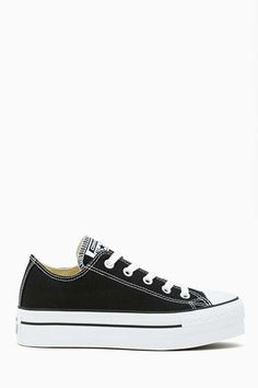 Converse All Star Platform Sneaker - Black