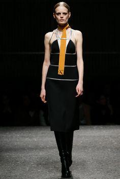 Prada Fall 2014 Ready-to-Wear Fashion Show - Hanne Gaby Odiele