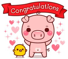 Create your own personal Sticker packs for WhatsApp! Send cool stickers in WhatsApp and spice up the boring group chats! Share single stickers or entire sticker packs! Pig Images, Cute Images, Pig Drawing, Drawing For Kids, This Little Piggy, Little Pigs, Cute Love Cartoons, Cute Cartoon, Romantic Humor