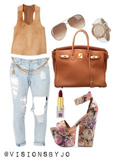 """""""Untitled #1124"""" by visionsbyjo on Polyvore featuring Jakett, Jeffrey Campbell, Hermès, Chanel, Gucci, Napoleon Perdis and Juicy Couture"""