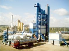 Truemax asphalt mixing plants – over 3000 mobile and stationary plants in operation around the world.