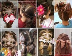 60 ideias de penteados para meninas