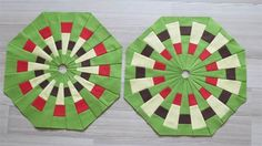 Geta's Quilting Studio gives a tutorial for these Dresden plate blocks.