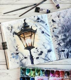 Watercolor art by painting, dra… Aquarellkunst durch Malerei, Zeichnung, Kunst – The post Aquarellkunst durch Malerei, … appeared first on Frisuren Tips - People Drawing Illustration Inspiration, Art Inspiration Drawing, Art Et Illustration, Art Illustrations, Painting & Drawing, Watercolor Paintings, Watercolor Drawing, Art Sketches, Art Drawings