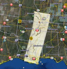 Genealogy's Star: New technology to use historic maps. Google earth historic overlays