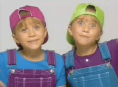 Pin for Later: 16 Times You Really Wanted to Be Mary-Kate and Ashley Olsen Growing Up When They Coordinated Outfits and You Bugged Your Sister to Be Friends/Twins