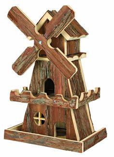 Natural Living moulin à vent Hennes, 25 × 42 × 16 cm, souris, hamsters: Amazon.fr: Jardin