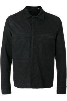 Blk Dnm buttoned jacket