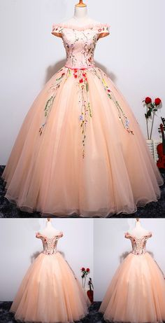 Long Prom Dresses, Pink Prom Dresses, Ball Gown Prom Dresses, Beautiful Prom Dresses, Prom Dresses Long, Prom Long Dresses, Long Evening Dresses, Ball Gown Dresses, Pink Evening Dresses, Beautiful Prom Dresses Ball Gown Off-the-shoulder Long Chic Prom Dress/Evening Dress