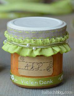 halbachblog I Hochzeit I Give aways verpacken I Bänder, Etiketten, Sticker