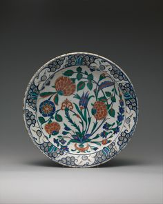 Dish Date: 16th century Geography: Turkey, Iznik Culture: Islamic