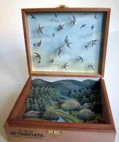 David Gothard. Swifts in a box.