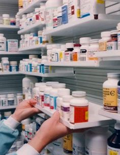 We have many pharmacy shelving solutions.
