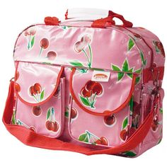 Sac à Langer Cherry Pink Cherries, Diaper Bag, Baskets, Lunch Box, Pink, Backpacks, Kitchen, Bags, Vintage