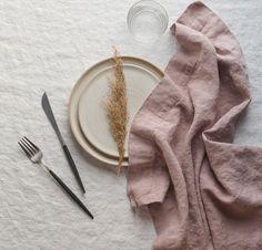 Beautiful Quality Linen Napkins by Rough Linen Linen Tablecloth, Linen Napkins, Table Linens, Folding Napkins, Linen Towels, Tea Towels, Linen Duvet, Linen Fabric, Fabric Art