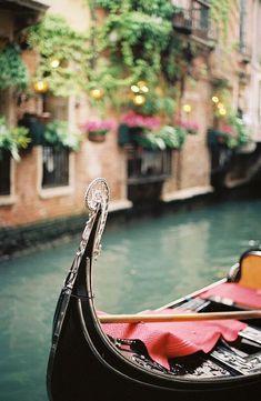 Gondel, Venetië, Italië