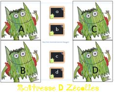 Agnus Day, Busy Bags, Monster, Back To School, Kindergarten, Comme, Blog, Kids, Emotion