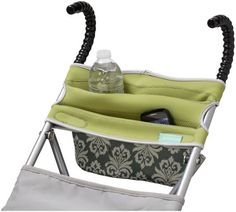 Infantino Stretch Umbrella Stroller Organizer, Green Waterproof neoprene pouch is durable and easy to clean. Fits on most sizes of umbrella or compact strollers. Babies R Us, Baby Kids, Stroller Storage, Umbrella Stroller, Baby Gear, Baby Love, Just In Case, Baby Items, Baby Car Seats
