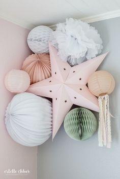 Baby room pastel deco 63 ideas for 2019 Baby Decor, Kids Decor, Nursery Decor, Bedroom Decor, Baby Bedroom, Kids Bedroom, Room Baby, Green Kids Rooms, Boho Deco