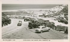 Overlooking the parking area, Sorrento Melbourne Victoria, Victoria Australia, Old Photos, Vintage Photos, Bondi Beach Sydney, Historic Houses, Sorrento, Melbourne Australia, Historical Photos