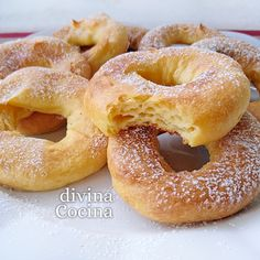You searched for Chip - Divina Cocina Donut Recipes, Bread Recipes, Cooking Recipes, Flan, Beignets, Mexican Sweet Breads, Best Sweets, Brunch, Homemade Donuts