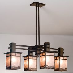 Find This Pin And More On Craftsman Chandeliers By Lampsbeautiful