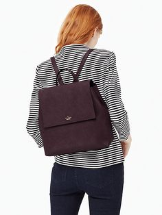 seeking a backpack that's sleek, not schoolgirlish? look no further than our cameron street neema, a gorgeously simple leather sac that's available in a variety of pretty colors, perfect for pairing w