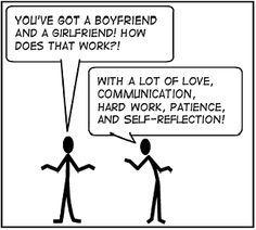 Open relationship polyamory