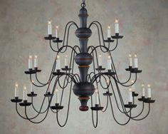 High quality handmade colonialearly american and folk art high quality handmade colonialearly american and folk art reproduction lighting chandelier aloadofball Image collections
