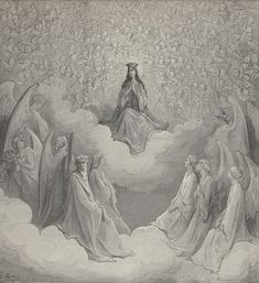 The Queen of Heaven Gustave Doré - The Divine Comed