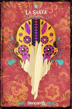 LA SANTA by Miguel Bencomo, via Behance