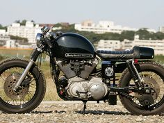 """Mod Cafe 2"" Harley-Davidson XL 1200 Sportster by Hide Motorcycles 