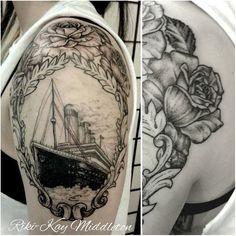 Titanic Tattoo by Riki-Kay Middleton