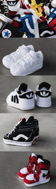 鞋頭從小開始培養!Highsnobiety x Picasso Babe針織嬰兒鞋系列