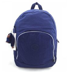 Kipling Carmine A Backpack ** Discover this special product, click the image(This is an affiliate link and I receive a commission for the sales) : Travel Backpack Blue Check, Travel Backpack, Backpacks, Zip, Ink Blue, Amazon, Bags, Image Link, Orange