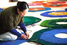 Japanese artist Toshiko Horiuchi MacAdam makes playscapes