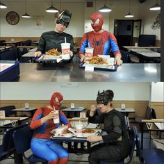 Item 48 – Comic Book Heroes dinner | WeWishes